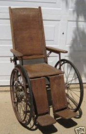 1940s wheelchair