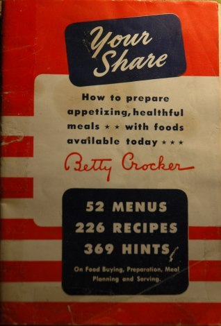 1940s Cookbook