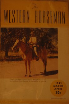 1940s Western Horseman