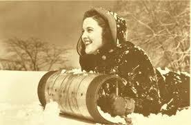 girl-on-sled