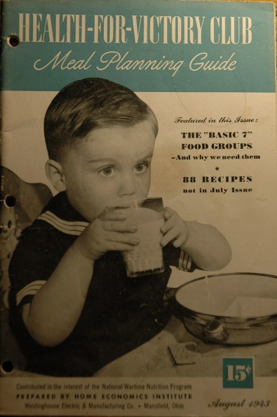 1940s Cookbook Boy