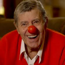 jerry lewis older clown nose tisha martin author editor