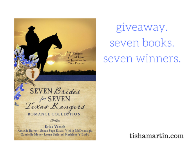 giveaway. seven books. seven winners.